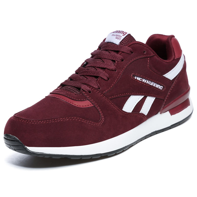 Mens Leather Sneakers Unisex Autumn Winter Casual Trainers Breathable Outdoor Walking Shoes Free Flexible Antiskid Running Shoes
