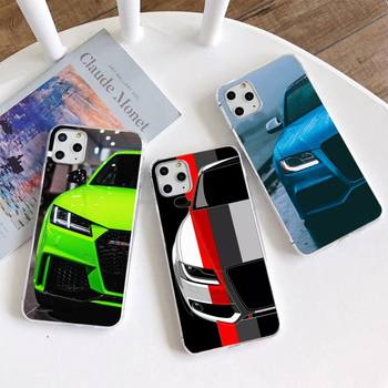 Luxury car Audi RS Phone Case for iphone 12 pro max 11 pro XS MAX 8 7 6 6S Plus X 5S SE 2020 XR cover image
