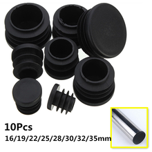 Leg-Plug Blanking-End-Cap 32/35mm Pipe-Tube Furniture Round Bung for Wholesale 10pcs/Lot
