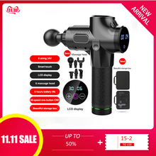 Muscle Massage Gun Deep Tissue Massager Therapy Gun Exercising Muscle Pain Relie