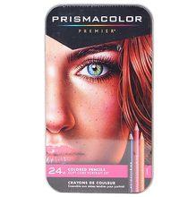 Les importations américaines Sanford PRISMACOLOR doux noyau Portrait 24 couleurs couleur de la Peau art Crayon huileux Crayon de couleur pour étudiants Peau