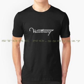 Wartburg - Limousine Made In Gdr - White Graphic Custom Funny Hot Sale Tshirt Wartburg Car Gdr Ddr Logo Industrial Eastern image