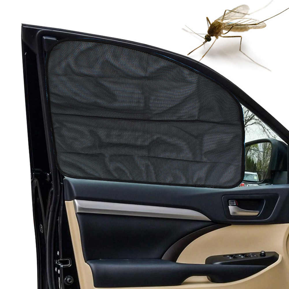 دائم المحمولة المغناطيس الامتزاز السيارات نافذة السيارة الستار الأشعة فوق البنفسجية حماية الشمس شبكة تظليل قناع جديد رائجة البيع