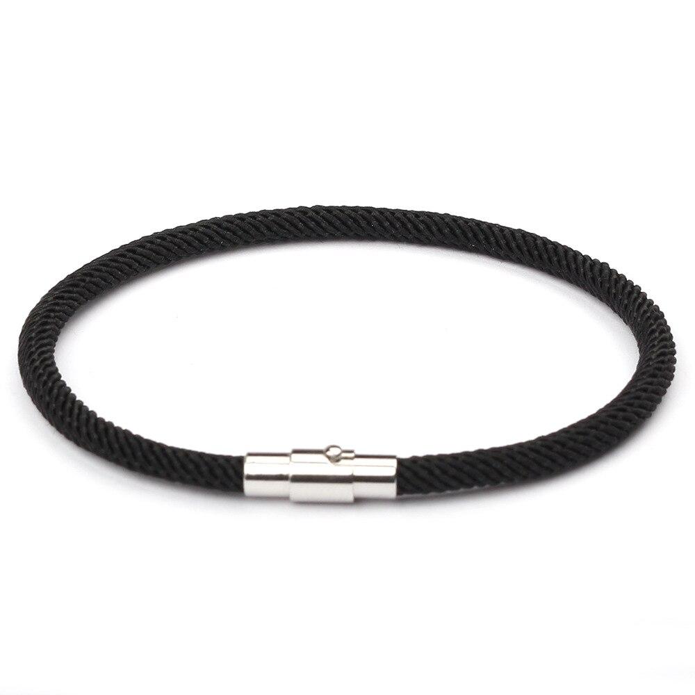 New Sale Red Thread Bracelet Kabbalah Women Men Silver Color Magnetic Buckle Charm Girl's Gift Jewellery Wholesale Pulsera Roja