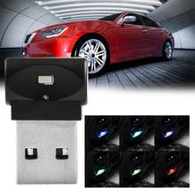 Mini USB Car Interior Atmosphere Light Interior Ambient Lighting Low Power Car Decoration Lights for Cars Laptops Mobile Power