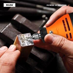 Image 5 - HILDA 전기 미니 드릴 Dremel 그라인더 조각 펜 미니 드릴 전기 로타리 도구 연삭 기계 Dremel 액세서리