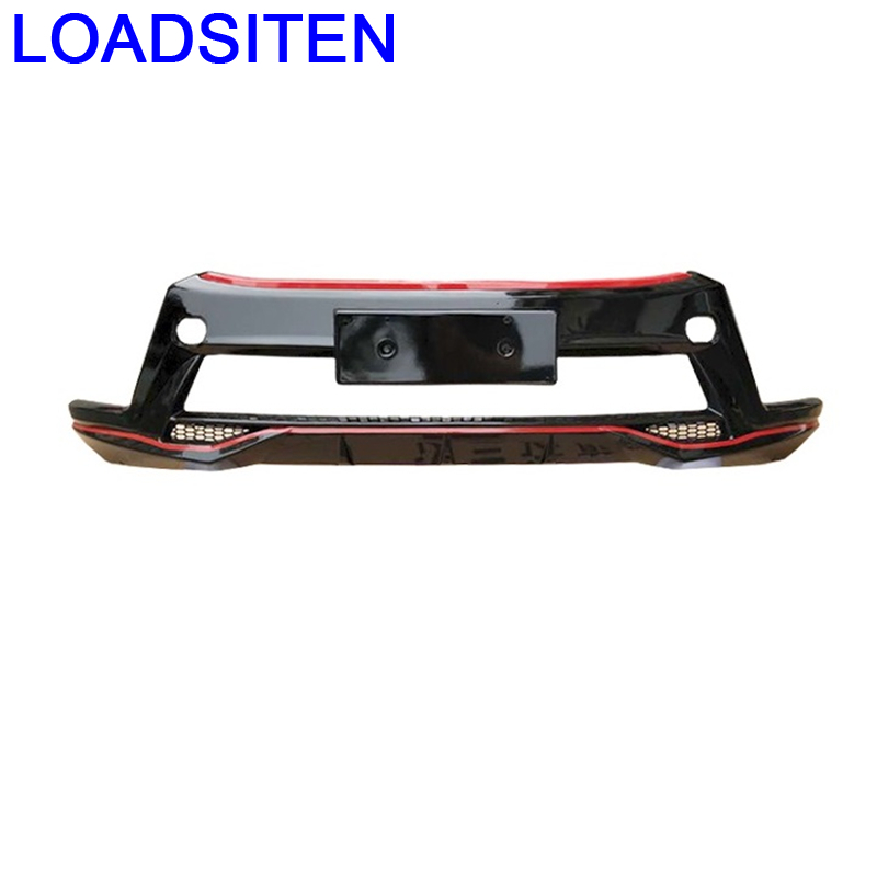 Parts Styling Modified Modification Rear Diffuser Front Lip Tuning Car Bumpers 09 10 11 12 13 14 15 16 17 FOR Toyota Highlander