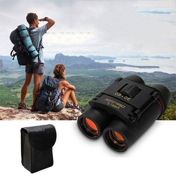Mini Size Protable Telescope Folding Binoculars with Low Light Night for outdoor bird watching travelling hunting camping zoom telescope 40x22 folding binoculars with low light night vision for outdoor bird watching travelling hunting camping 2000m a