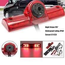 Car Brake Light Rear View Camera Backup Reverse Camera for Nissan NV1500/NV2500/NV3500 NV Passenger Cargo Van