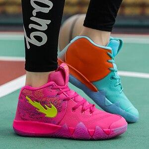 Image 2 - Irving 46th geração masculino tênis de basquete masculino scarpe uomo ao ar livre antiderrapante formadores zapatillas hombre casual