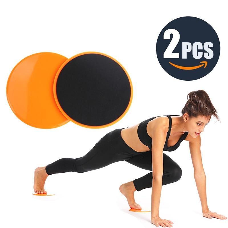 2Pcs Professional Gliding Discs Yoga Slider…