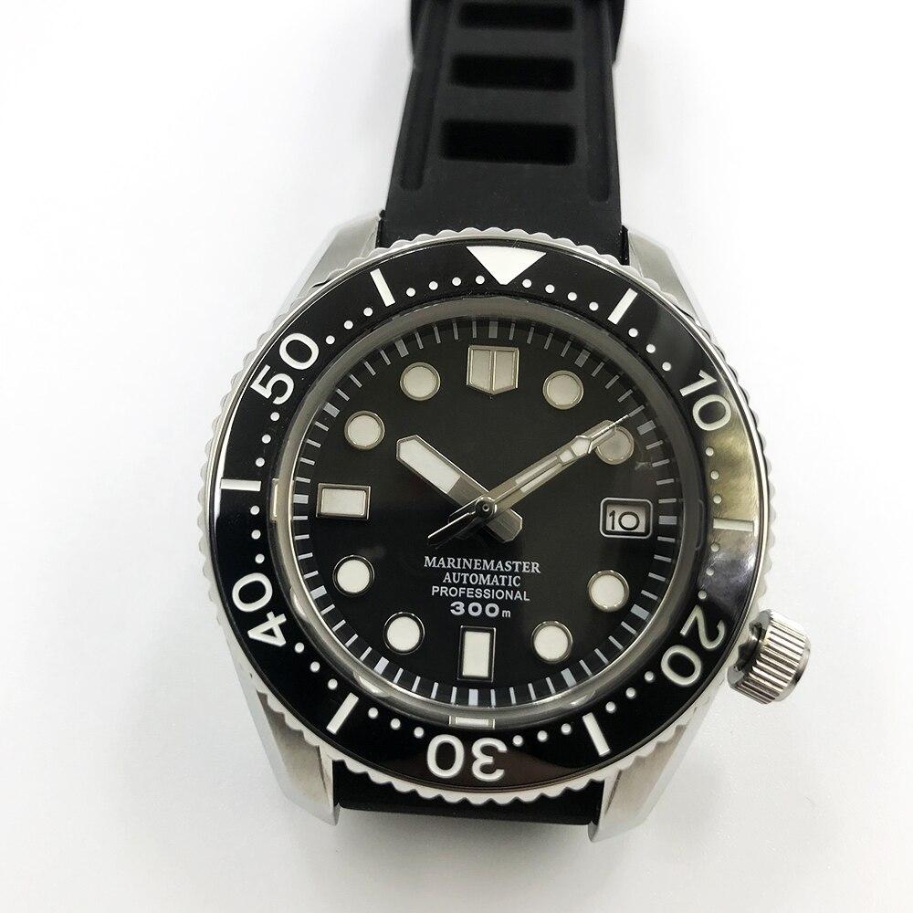 Mode SBDX001 montres de plongée automatique Bracelet en acier inoxydable NH35 300M résistant à l'eau saphir verre montre-Bracelet pour hommes