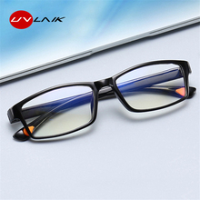 UVLAIK TR Frame Finished Myopia Glasses Shortsighted Eyewear Men Women