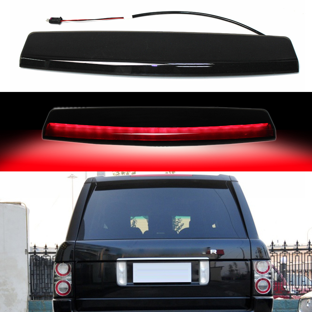 1pc Smoked High Mounted 3rd Third Brake Stop LED Light Lamp For Rear Tail Lamp For Range Rover L322 04-12