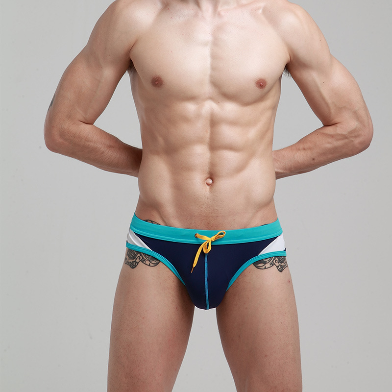 2019 Summer Hot Sales Men Lace-up Swimwear Briefs Wholesale Outdoor Sports-Tour Pants A Generation Of Fat