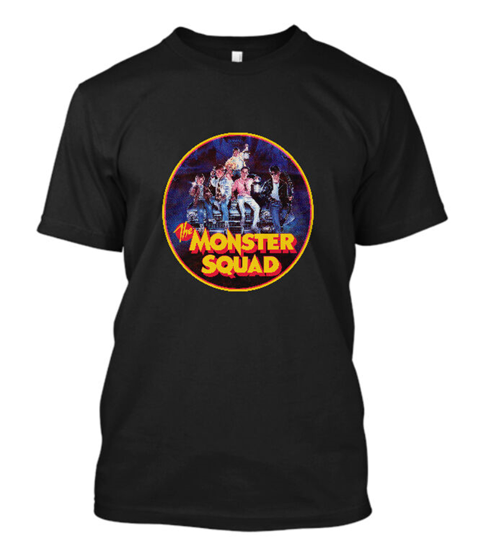 New Monster Squad Tee Movie Horror Comedy Film Shane Black T Shirt Size S - 3Xl Fashion Classic Style Tee Shirt image