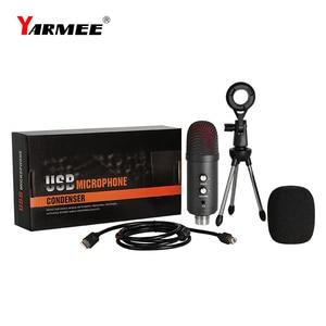 Image 5 - Professionele Usb Microfone Condensator Microfoon Voor Laptop Karaoke Zingen Streaming Gaming Podcast Studio Opname Mikrofon
