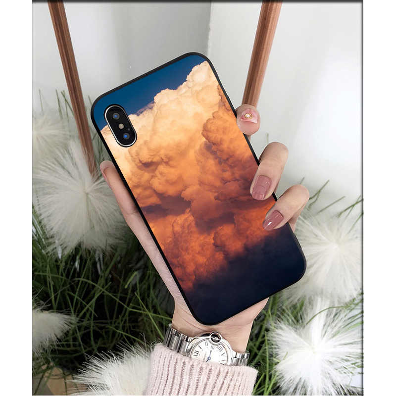 Nbdruicai Sterrenhemel, Ster, aarde Tpu Zachte Siliconen Phone Case Cover Voor Iphone 11 Pro Xs Max 8 7 6 6S Plus X 5 5S Se Xr Case