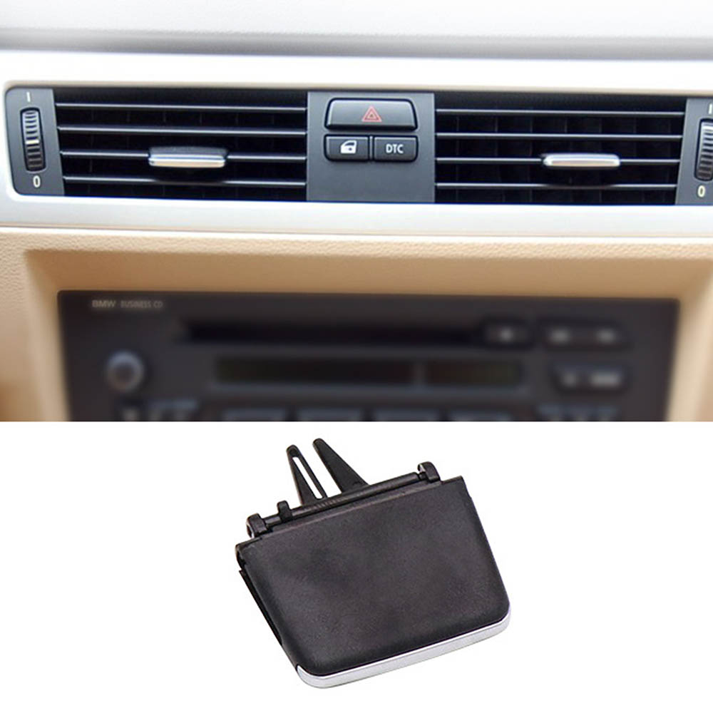 Car Air Conditioning <font><b>Vent</b></font> Toggle Pad for <font><b>BMW</b></font> 3 Series <font><b>E90</b></font> E92 Car Wind Grille Adjustment Plectrum Knob Outlet Card Clip image