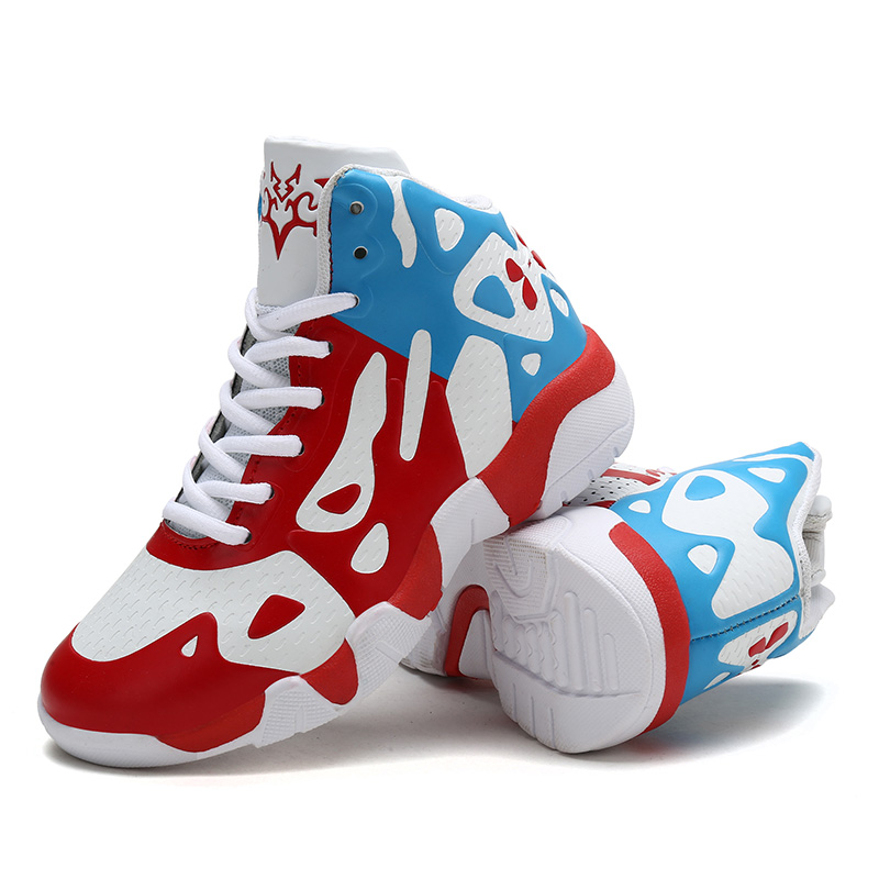 RUIFF Boy Basketball Shoes Kids Footwear Children Sports Shoes Kid Sneakers Boy Green Shoes Warm  Youth Shoes For Boys