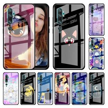 Перейти на Алиэкспресс и купить Тестовый стеклянный чехол для Xiaomi Redmi Note 9S 8T 9 8 7 8A K20 K30 Pro Zoom 6 закаленное стекло для телефона Carcasa Capas