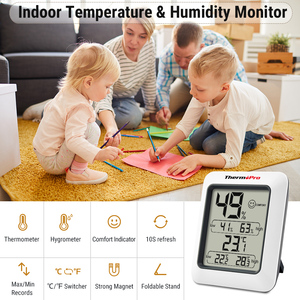 Image 3 - Thermopro TP50 High Accuracy Digital Hygrometer Thermometer Indoor Electronic Temperature Humidity Hygrometer Weather Station