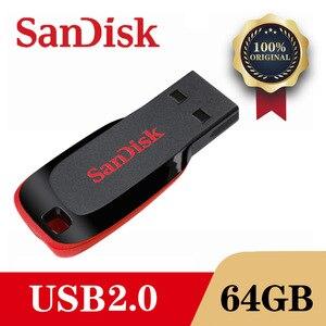 SanDisk USB Flash Drive 128GB/64GB/32GB/16GB Pen Drive Pendrive USB 2.0 Flash Drive Memory stick USB disk usb flash