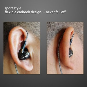 Image 4 - Tennmak Pro Dual Dynamic Driver Professional In Ear Sport Detach MMCX Earphone with microphone VS SE215 SE525