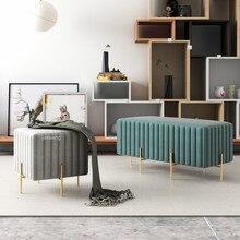 Роскошный стул для гостиной, табурет, скамейка для дома, двери, платье, отель, бар, кафе, магазин, длинный диван, стул для отдыха, детский индивидуальный туалетный стул
