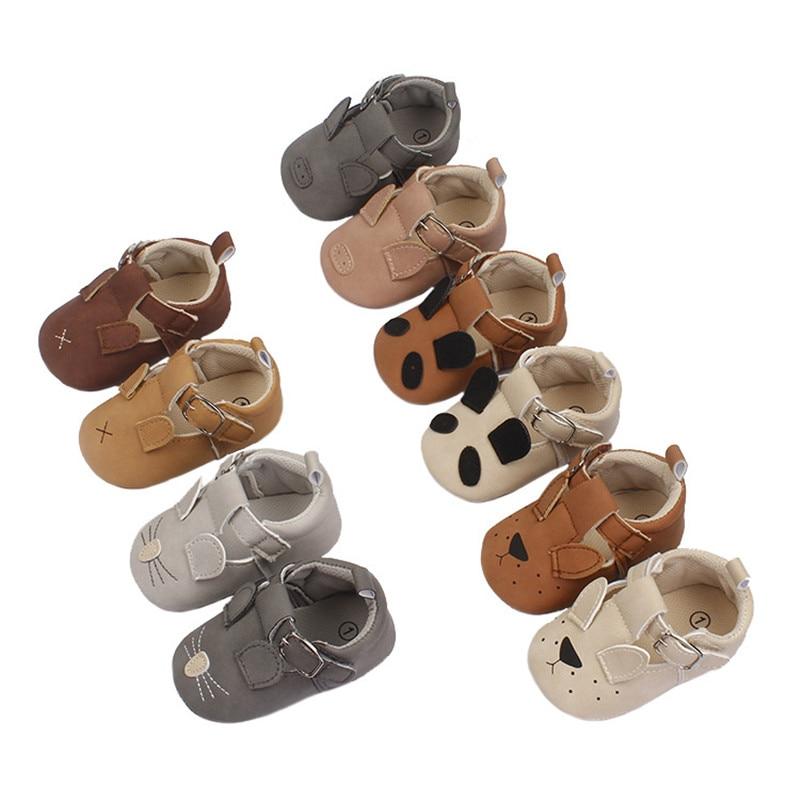 Cute Cartoon Baby Shoes For Girls Soft Moccasins Nubuck Shoe Soft Bottom  Baby Girl Sneakers Toddler Boy Newborn First Walk Shoe
