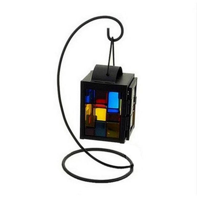 1pcs european color square candle