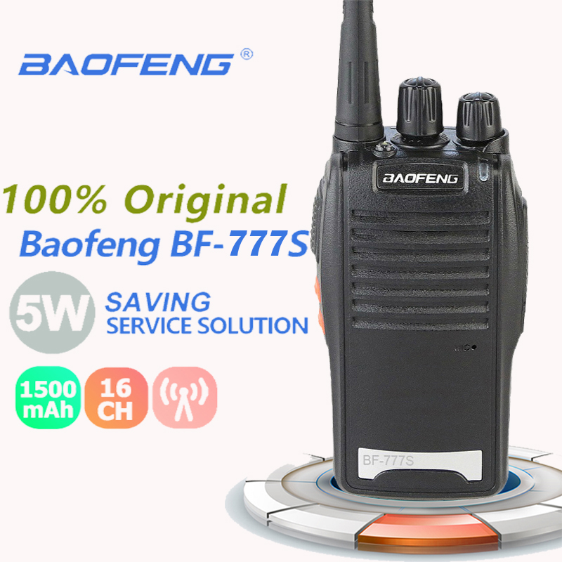 New Baofeng BF-777S Portable Walkie Talkie UHF 400-470MHz Walkie Talkie 50km Dmr Radio Emisoras De Radioaficionado Radio Scanner