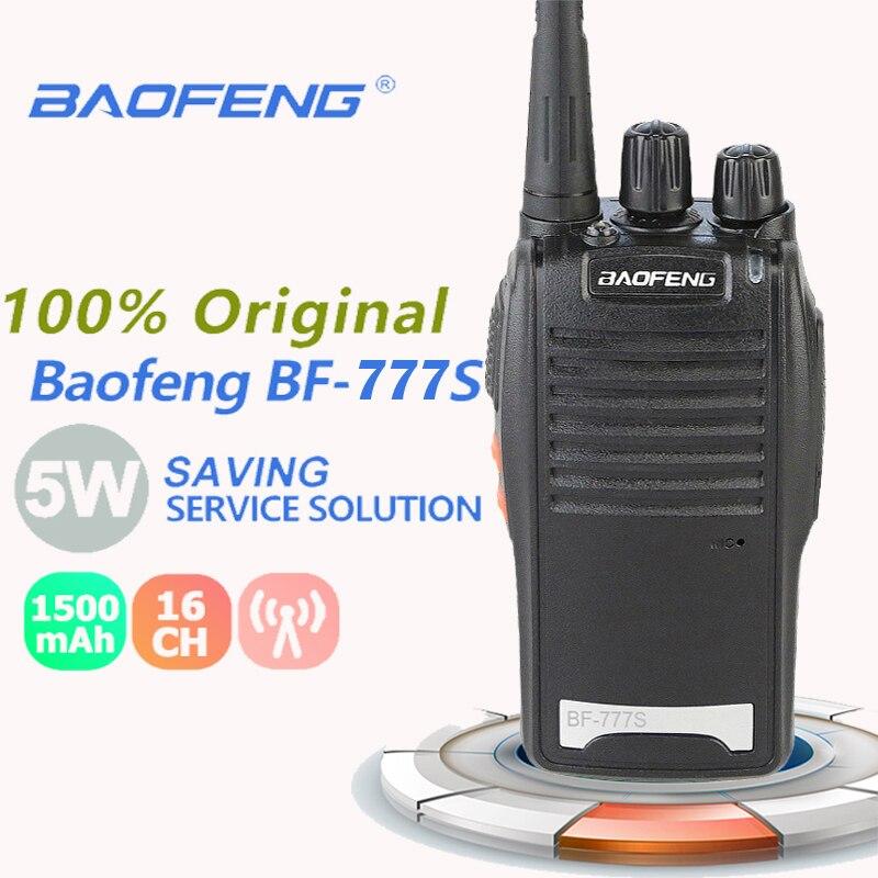 New Baofeng BF-777S Portable Walkie Talkie UHF 400-470MHz Walkie Talkie 50km Dmr Radio Emisoras De Radioaficionado Radio Scanner