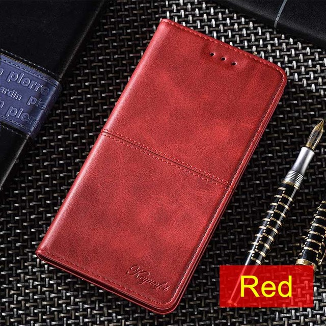 Flip Case For Redmi Note 2 3 4 5 7 8 Pro Soft Coque Leather Cover on Redmi 4A 4X 5 5A 6 6A 7 8 8A S2 K20 luxury business case