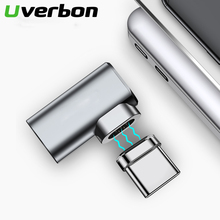 87W 4.3A Magnetic USB C Adapter for MacBook Pro 90 Elbow USB Type C Charge Connector for Samsung USB Adapter USB C Charger