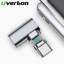 87W 4.3A 마그네틱 USB C 어댑터 맥북 프로 90 팔꿈치 USB 타입 C 충전 커넥터 삼성 USB 어댑터 USB C 충전기