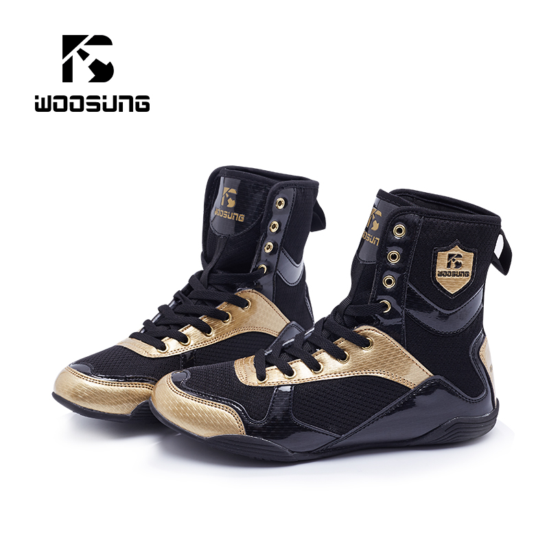 Men Women Weightlifting Wrestling Powerlifting Boxing Shoes Martial Arts Boots Combat Gear