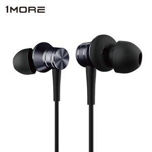 Image 1 - 1 יותר E1009 בוכנה מתכת סטריאו אוזניות באוזן Wired אוזניות אוזן ניצנים עם 3.5mm אוזניות