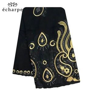 Image 2 - 2019 New African Women Scarf, Muslim embroidery soft cotton Splicing big scarf, Shawls wraps pashmina turban EC092