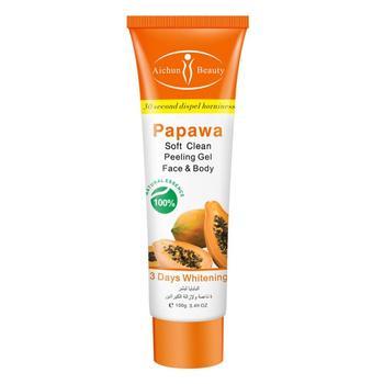 1 Pc Papaya Exfoliating Cream Scrub Peeling Gel Face Body Skin Moisturizing Face Whitening Cream Hand Body Care недорого