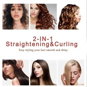 Профессиональный Выпрямитель для волос 2 в 1, плойка с спиральными волнами, плойка, щипцы для завивки, инструменты для выпрямления, Стайлинг волос, новый дизайн