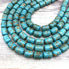 20 Pcs Natural Stone Semi-precious  Spacer Beads for Jewelry Making Handcrafted Supplies