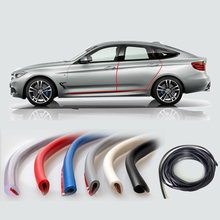 Car Door Strip Protection Side Protector Stying Rubber Moulding Sticker Sealing For Auto