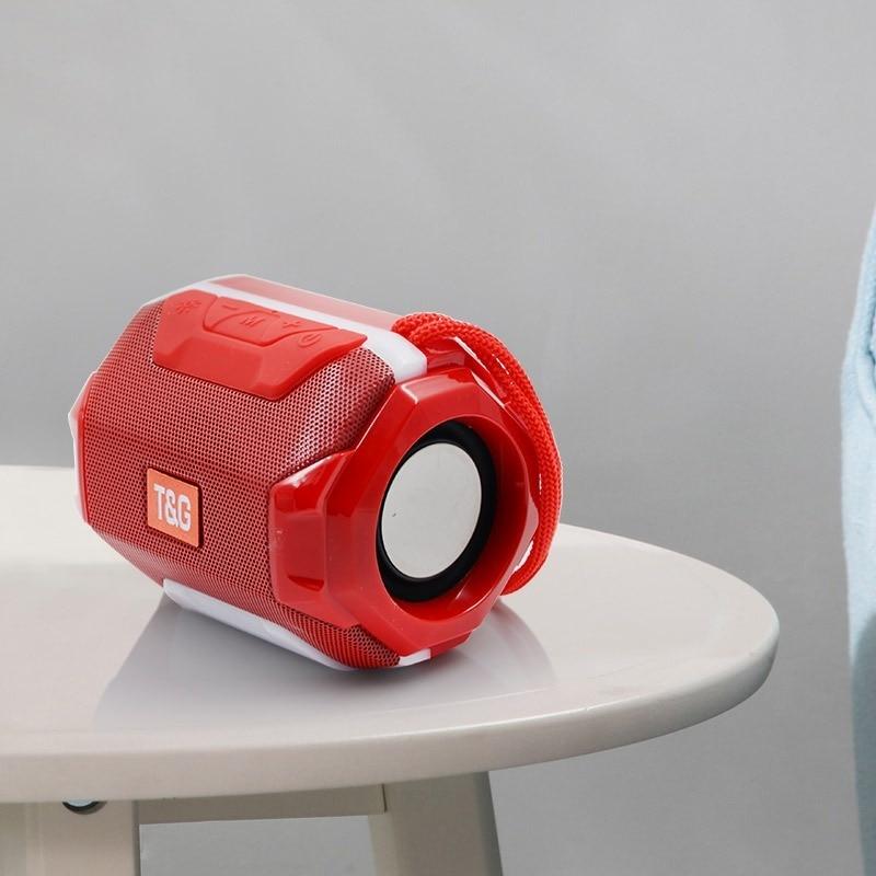 Беспроводной bluetooth динамик наружный светодиодный стерео