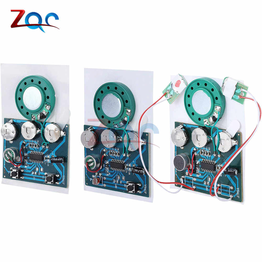 30S 30secs Photosensitive Sound Voice Audio Music Recordable Recorder Board Chip Programmable Music Module for Greeting Card DIY
