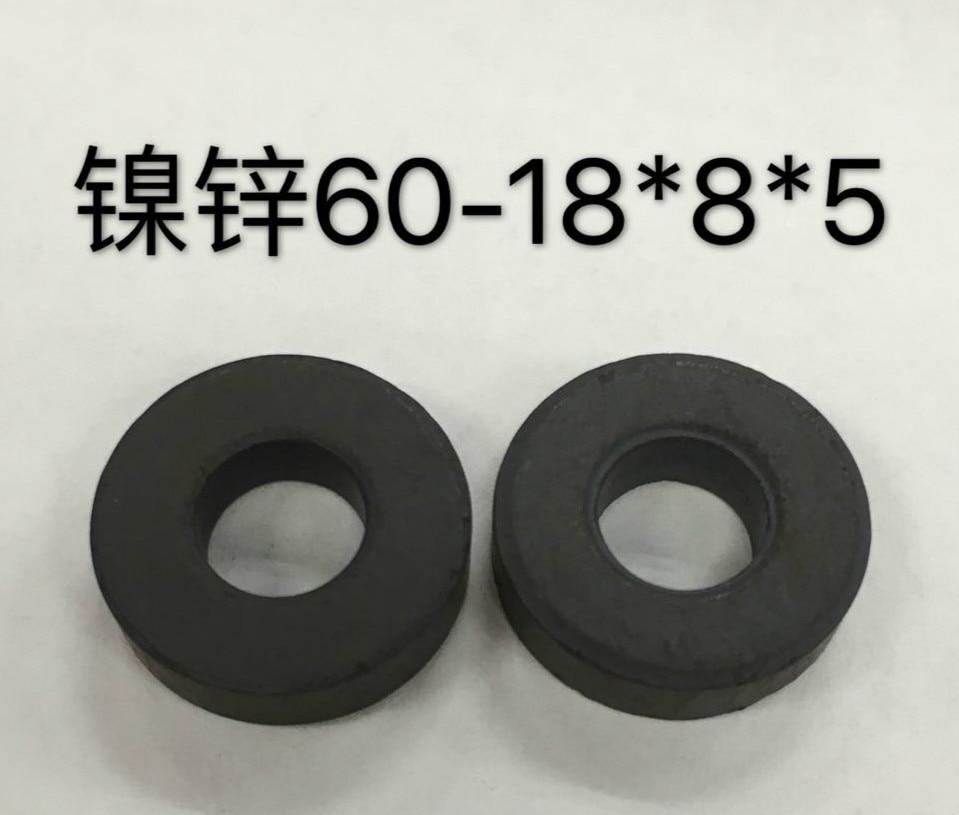 Nickel Zinc Magnetic Ring NXO-60-18 * 8 * 5 Antenna / Short Wave / High Frequency Welding Machine / Balun