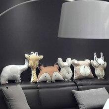 Pillows Cushions Nordic-Style Dolls Decors Sofa Plush-Toys Animal Stuffed Kids Cute Kawaii