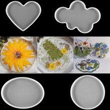 1 pz sottobicchieri stampi in Silicone stampi per sottobicchieri in cristallo resina epossidica vassoio in Silicone artigianato decorazione della casa strumenti fatti a mano