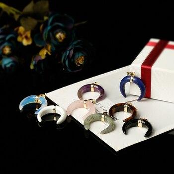African Pendant Jewelry Pendants cb5feb1b7314637725a2e7: Amethyst|lapis lazuli|Light Green|Obsidian|Opal|Rose Quartz|Tiger eye|White