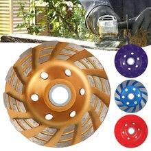 Disque de meule en diamant, disque de sculpture sur bois, coupe en forme de bol, béton, granit, pierre, céramique, outils électriques